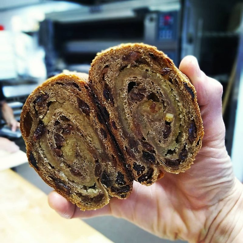 Delicious Christmas fare, Sourdough Stollen by Wild Bread