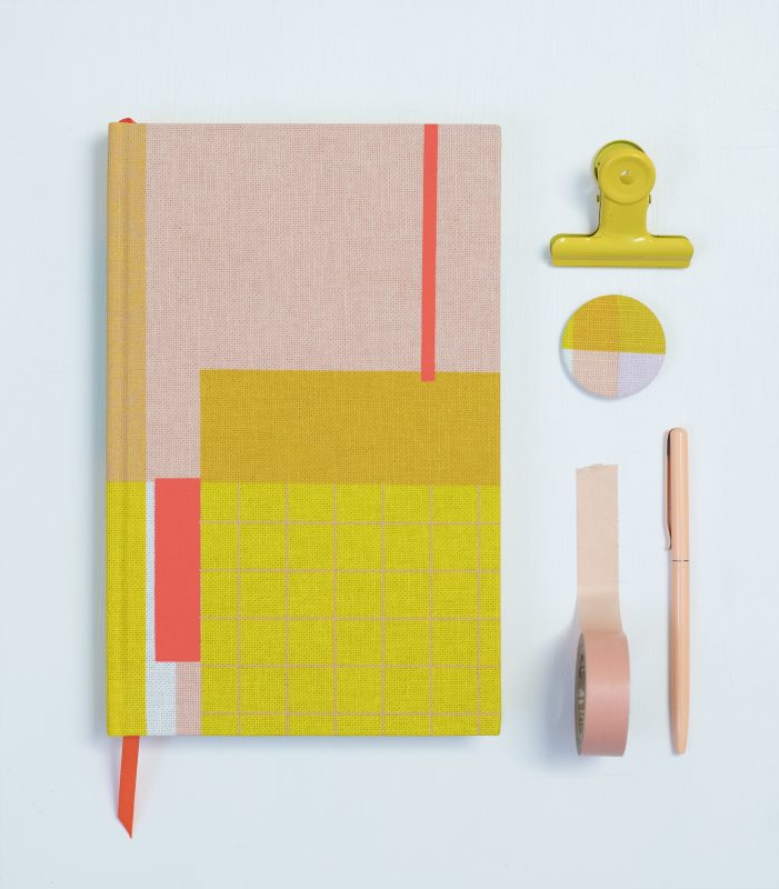 screen printed notebooks by Kate Clarke