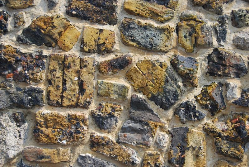 Faversham's alley walls are a reminder of its historic brick industry