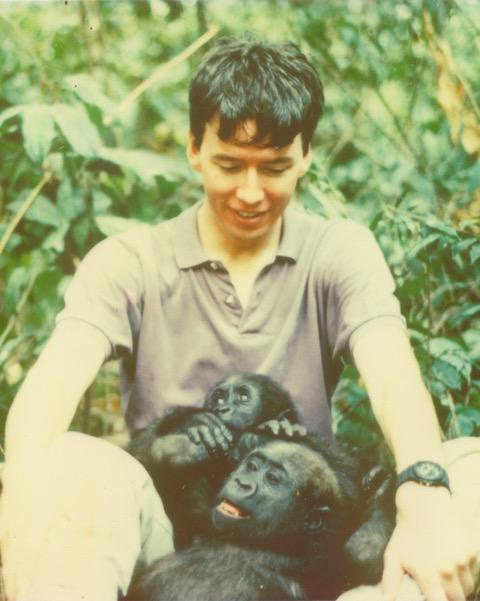 Matthew Hatchwell in The Congo 1991