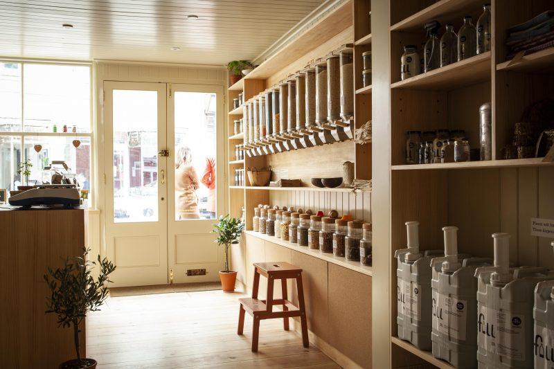 Vita Stores: reuses. refills, recycles