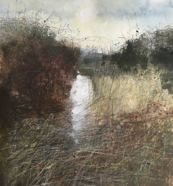 Hidden Waters, Oare Marsh by Paul Fowler