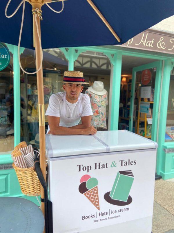 Ice cream man: Milan Thapa-Chhetri