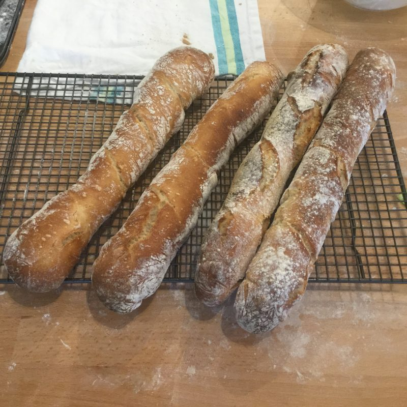 . . . and also this rather authentic-seeming French baguettes