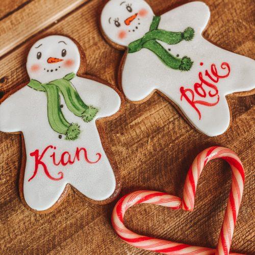 Personalised gingerbread people