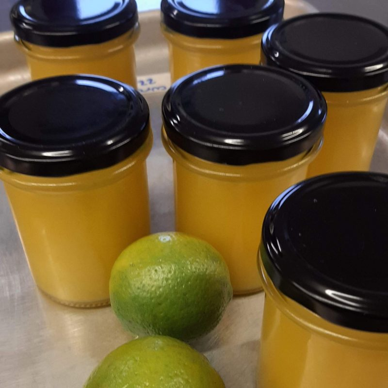 Lime Curd: specials change each week