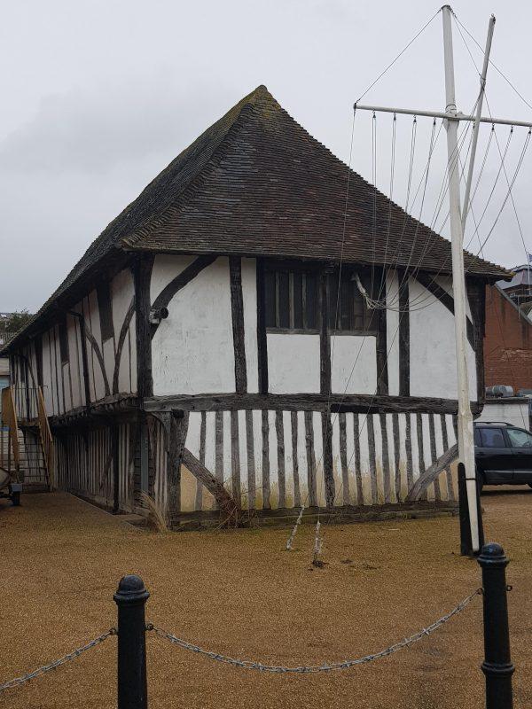 T.S. Hazard, originally the town's store dates 1475.