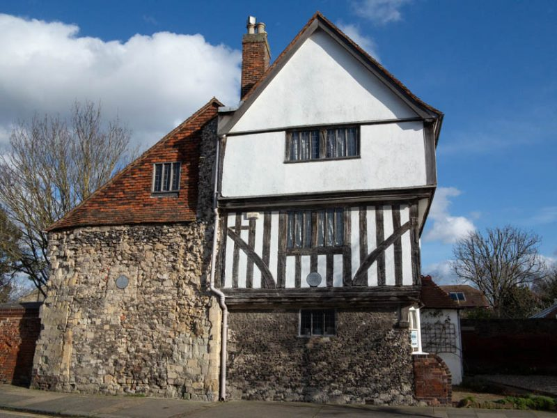 Arden's House, Abbey Street, probably late 15th century was originally a monastic guesthouse