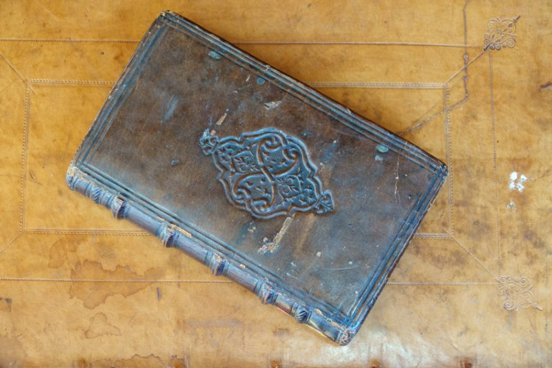 Two superbly-preserved English bookbindings